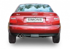 Simons Komplettanlage Audi A4 94-      2*80