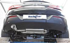 Inoxcar Endschalldämpfer 120x80mm