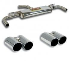 Supersprint Duplex Endschalldämpfer je 2x80mm