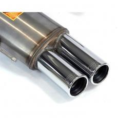 Supersprint Endschalldämpfer 2x76mm