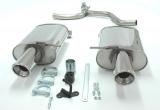 Simons Duplex Endschalldämpfer Audi A4 01-     2*100