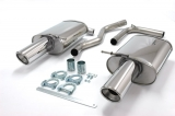 Simons Duplex Endschalldämpfer Audi A4 Turbo 01-   2*100