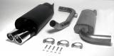 Simons Komplettanlage S40/V40 Turbo Fas1   2*80