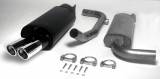 Simons Komplettanlage S40/V40 Turbo Fas2   2*80