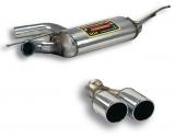 Supersprint Endschalldämpfer 2x80mm rund