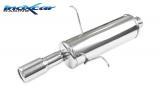 Inoxcar Endschalldämpfer 80mm
