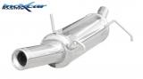 Inoxcar Endschalldämpfer 102mm