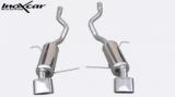 Inoxcar Duplex-Endschalldämpfer Oblong