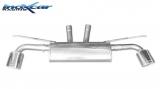 Inoxcar Duplex-Endschalldämpfer 150x105mm Oblique