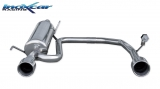 Inoxcar Duplex-Endschalldämpfer 102mm