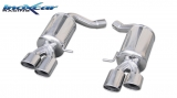Inoxcar Duplex-Endschalldämpfer 2x 90x70mm