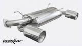 Inoxcar Duplex-Endschalldämpfer 120mm Maxi
