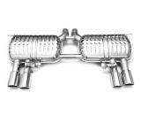 Eisenmann Duplex-Endschalldämpfer je 2x90mm