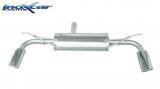 Inoxcar Duplex-Endschalldämpfer 120x80mm