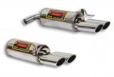 Supersprint Duplex Endschalldämpfer je 2x120x80mm