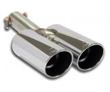 Supersprint Endrohre 2x90mm rund