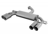 Remus Duplex-Endschalldämpfer je 2x84mm Titan