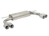 Ragazzon Duplex-Endschalldämpfer je 2x90 mm versetzt