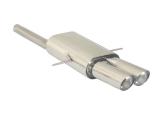 Ragazzon Endschalldämpfer mittig 2x90 mm Sport Line