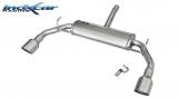 Inoxcar Duplex-Endschalldämpfer 102mm Racing