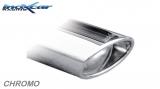 Inoxcar Endschalldämpfer 120x80mm Oblique