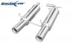 Inoxcar Endschalldämpfer 2x102mm (mittig)
