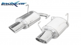 Inoxcar Duplex-Endschalldämpfer 150x105mm