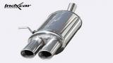 Inoxcar Endschalldämpfer 2x 90x70mm