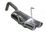 Inoxcar Endschalldämpfer 2x70mm Racing