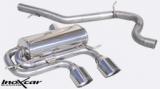 Inoxcar Endschalldämpfer mittig 102mm Racing