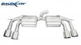 Inoxcar Duplex-Endschalldämpfer 2x102mm Racing
