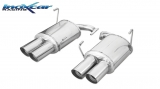 Inoxcar Duplex-Endschalldämpfer 2x90mm Racing