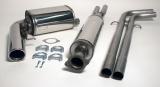 Simons Komplettanlage V70 Turbo 2WD 6/04- 1*100