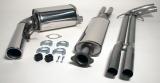 Simons Komplettanlage V70 Turbo AWD 6/04- 1*100