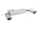 Ragazzon Duplex-Endschalldämpfer je 135x90 mm oval Sport Line