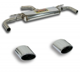 Supersprint Duplex Endschalldämpfer je 145x95mm