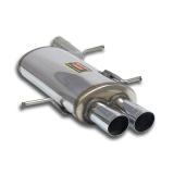 Supersprint Endschalldämpfer 2x70mm