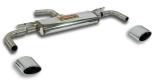 Supersprint Duplex Endschalldämpfer je 145x95mm oval