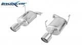 Inoxcar Duplex-Endschalldämpfer 114mm Racing
