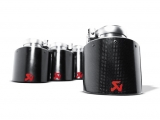 Akrapovic Endrohr-Set (Carbon, 125mm)