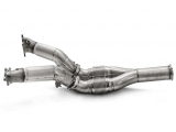 Akrapovic Downpipe / Link Pipe (SS) Part 2