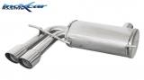 Inoxcar Endschalldämpfer 2x80mm Racing