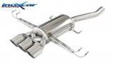 Inoxcar Endschalldämpfer 3x102mm Racing (mittig)