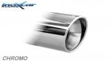 Inoxcar Duplex-Endschalldämpfer 110mm Angled